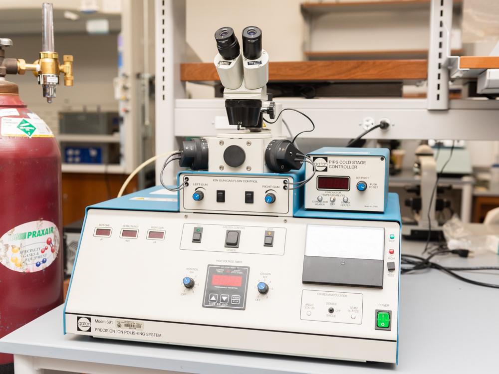 Photo of TEM Sample Preparation
